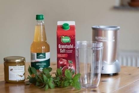 Oxymel-Medizin aus Honig und Essig