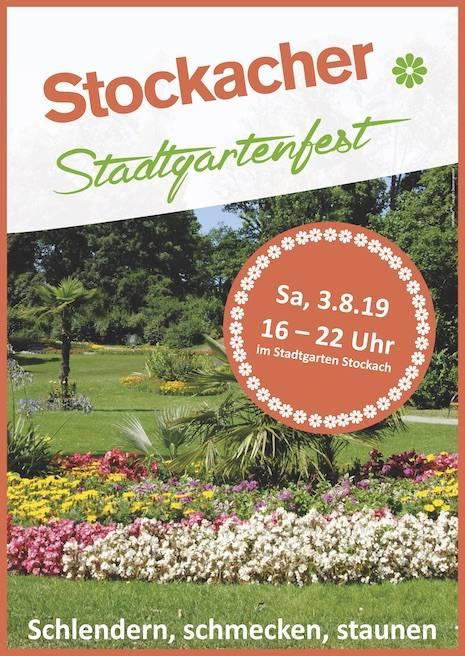 Stadtgartenfest Stockach