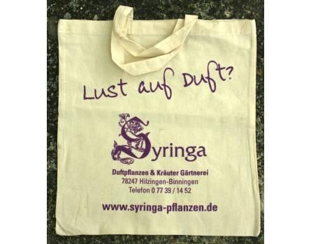 Umweltfreundliche Syringa-Stofftasche