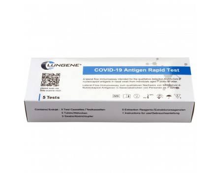 5 Stück Corona Antigen Schnelltest Laientest Clungene