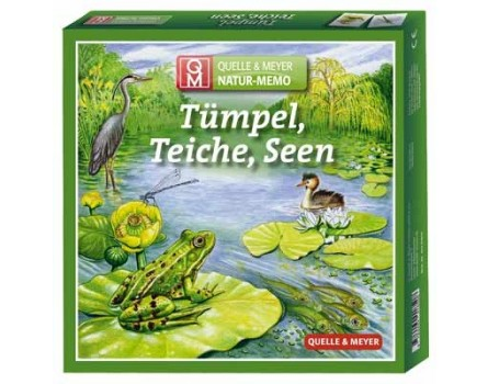 Natur Memo: Tümpel, Teiche, Seen