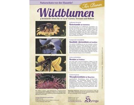 Samen-Set für Bienen, Wildblumen