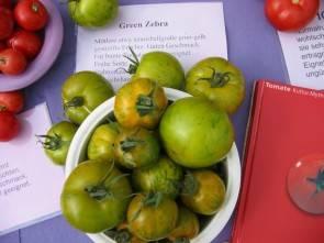 "Tomaten, Green Zebra"""