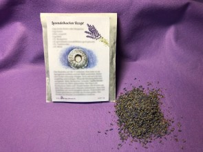 Lavendelkuchen Rezeptkarte mit Bio-Lavendelblüten (25 g)