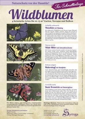 Samen-Set für Schmetterlinge, Wildblumen