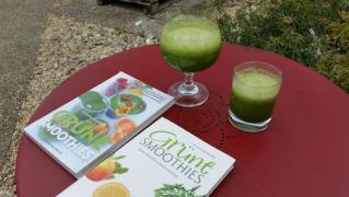Der grüne Drink oder Smoothie