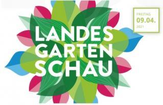 Info- und Verkaufsstand auf Landesgartenschau